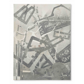 Ira Hoffecker - Urban Layers I (mono print)