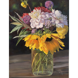 Bev Robertson - Backyard Bouquet