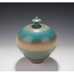 Mary Fox - Treasure Jar, Baking Soda Blue