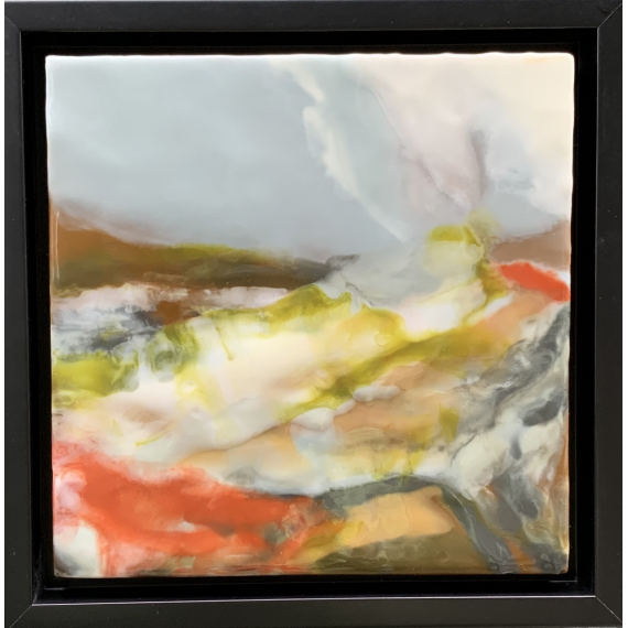 Lynn Harnish - Ascend - framed