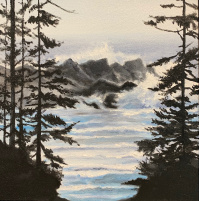 Maureen Ness - Waves Thru Trees, Snug Cove