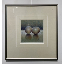 Estate Art Sale - Good Little Eggs - Catherine Moffat