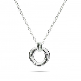 Mikel Grant - Love Knot trio necklace