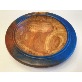 Raymond Sapergia - Spalted Oak & Resin bowl