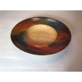 Raymond Sapergia - Wide Oak bowl