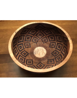 Raymond Sapergia - Basket Illusion Turned Wooden Bowls