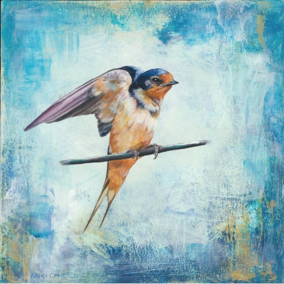 Kathy Cameron - Morning Perch