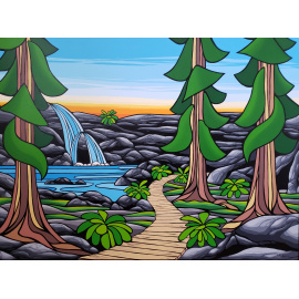 Monica Morrill - Forest Boardwalk