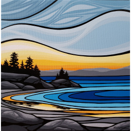 Monica Morrill - Coastal Sunrise