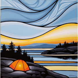 Monica Morrill - Island Sunset