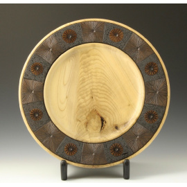 Tim Soutar - Magnolia Platter with stand