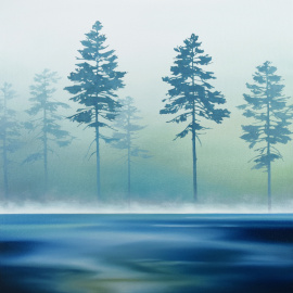 Kylee Turunen - Trees in the Mist