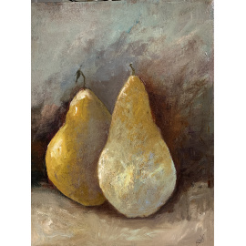 Joanna Drummond - Two Pears