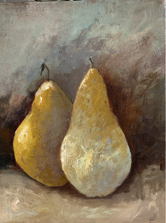 Joannna Drummond - Two Pears