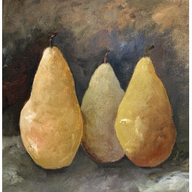 Joanna Drummond - Three Pears
